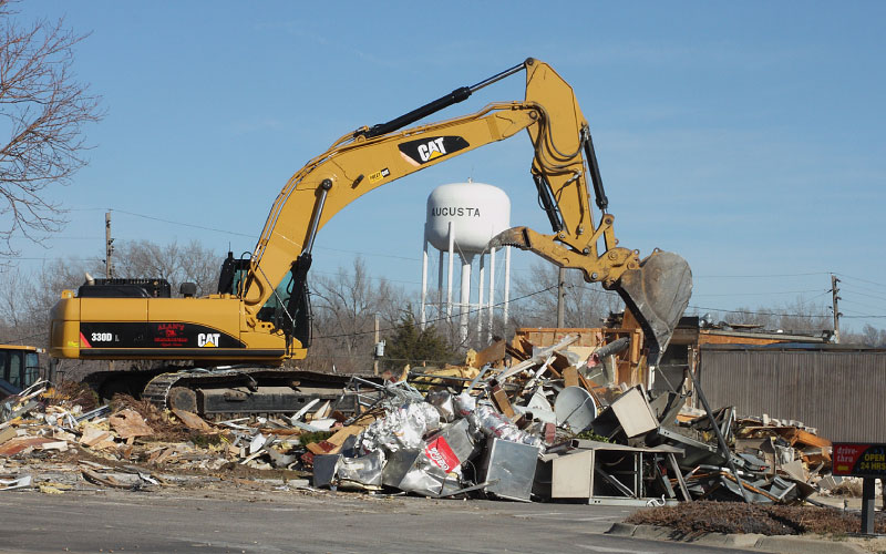 McDonald's Demolition